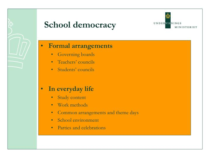 School democracy