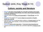 spoken skills key stage 8 103