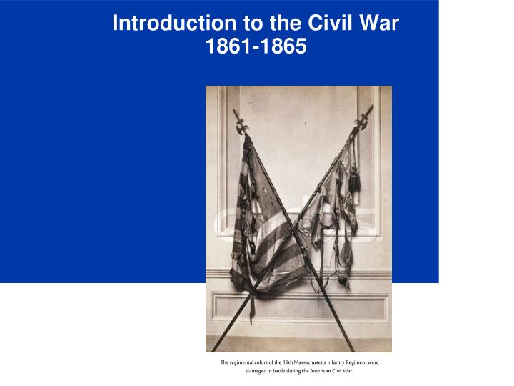 introduction to the civil war 1861 1865 n.