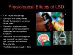physiological effects of lsd