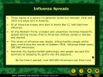 influenza spreads