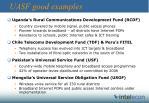 uasf good examples
