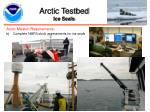 arctic testbed ice seals
