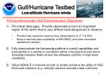 gulf hurricane testbed low altitude hurricane winds