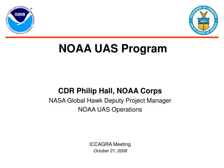 noaa uas program n.