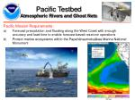 pacific testbed atmospheric rivers and ghost nets