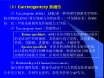 3 carcinogenicity