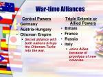 war time alliances