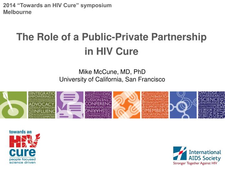 2014 towards an hiv cure symposium melbourne n.