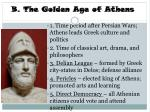b the golden age of athens