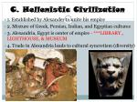 c hellenistic civilization
