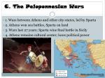 c the peloponnesian wars