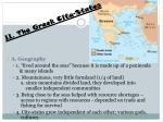 ii the greek city states