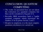conclusion quantum computing1
