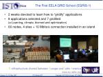the first eela grid school egris 1