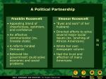 a political partnership