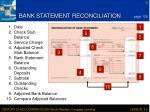 bank statement reconciliation