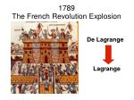 1789 the french revolution explosion