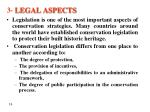 3 legal aspects