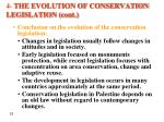 4 the evolution of conservation legislation cont3