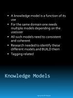 knowledge models