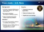 case study u s navy