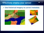 effectively employ your sensor1