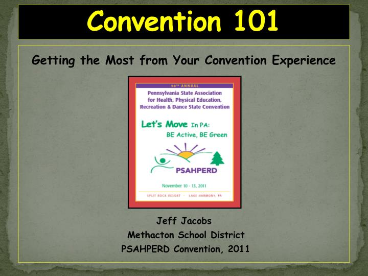 convention 101 n.