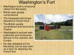 washington s fort