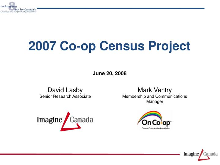 2007 co op census project n.