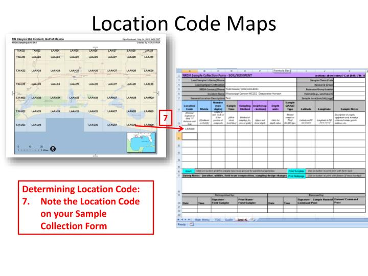 Location Code Maps