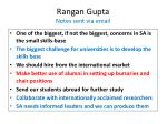 rangan gupta notes sent via email