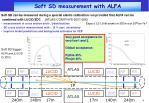 soft sd measurement with alfa