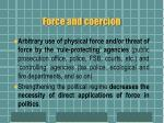 force and coercion1