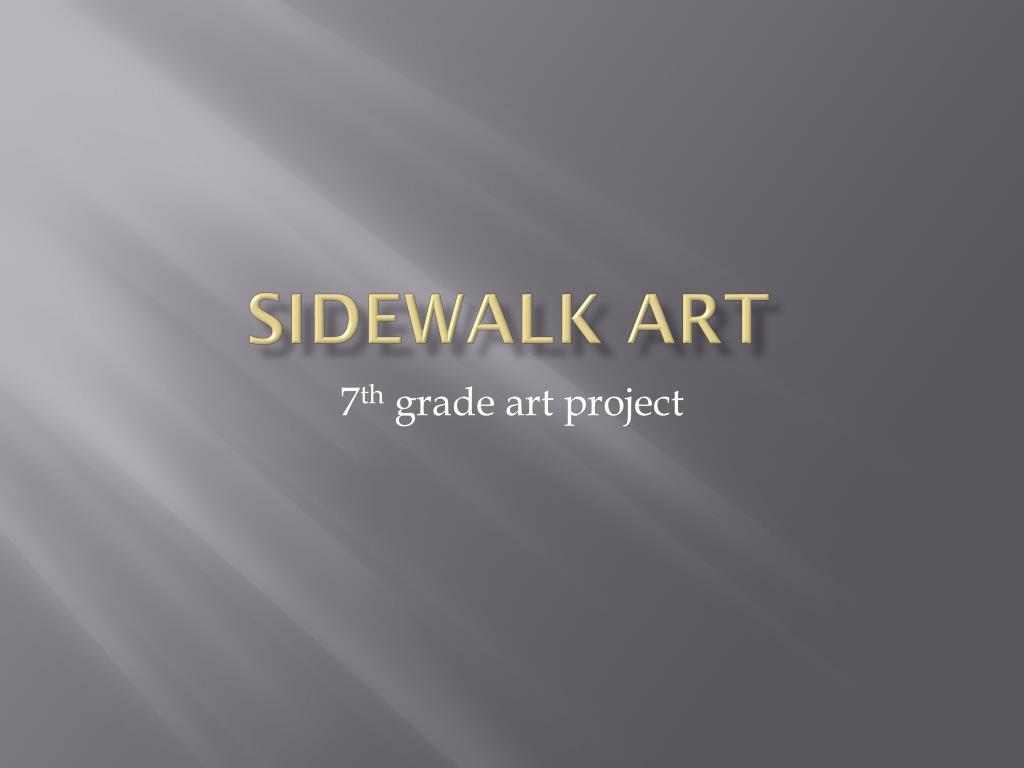 Powerpoint Amazing Sidewalk Art