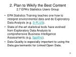 2 plan to wikify the best content 2 7 epa s statistics users group1