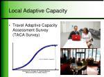 local adaptive capacity