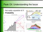 peak oil understanding the issue