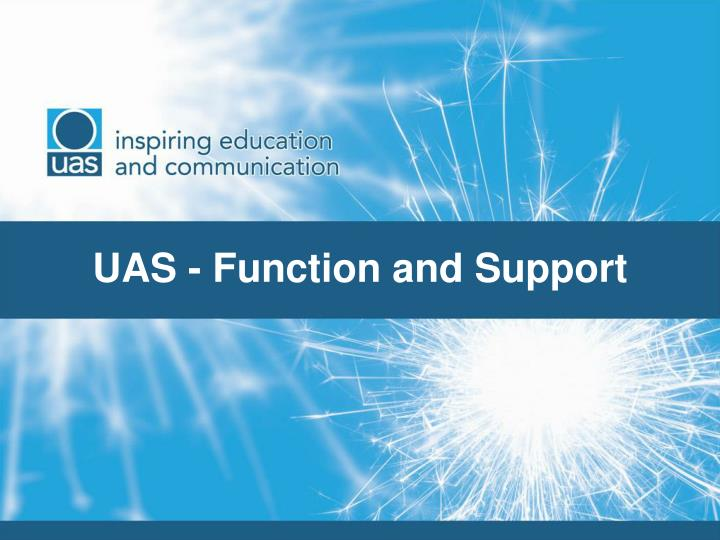 uas function and support n.