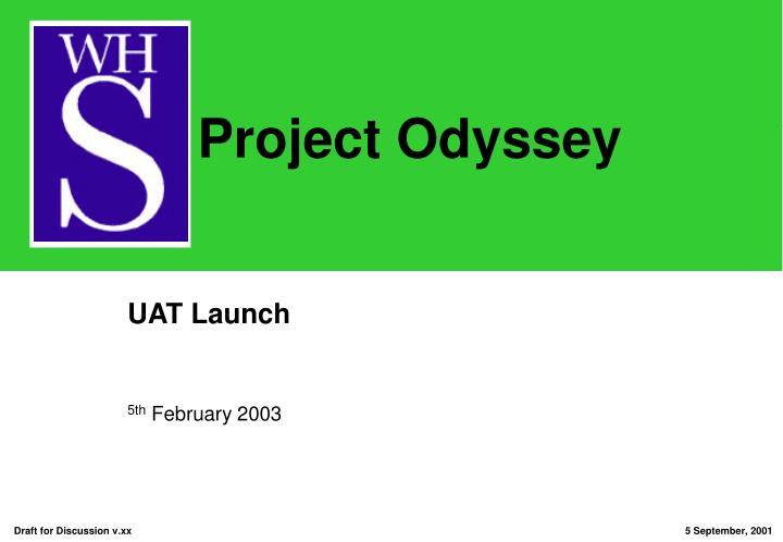 uat launch n.