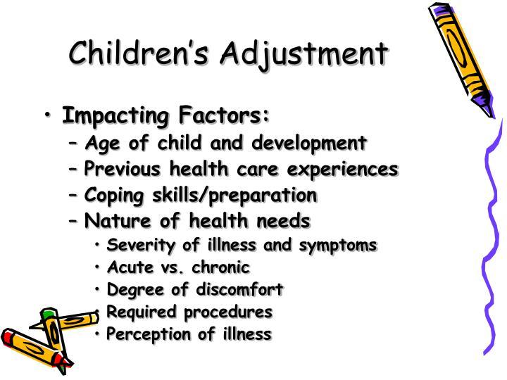 Children's Adjustment