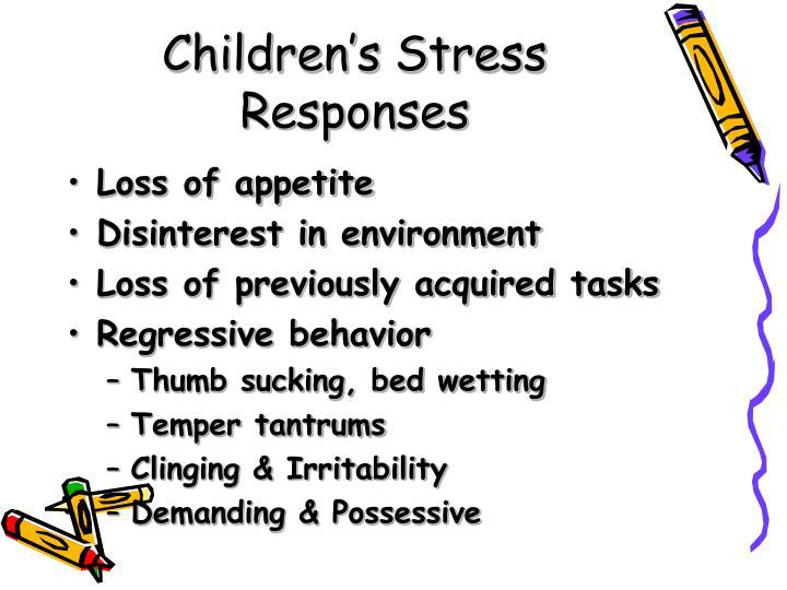 Children's Stress Responses