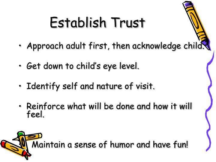 Establish Trust