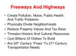 freeways and highways