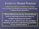 evidence based practice2