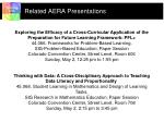 related aera presentations
