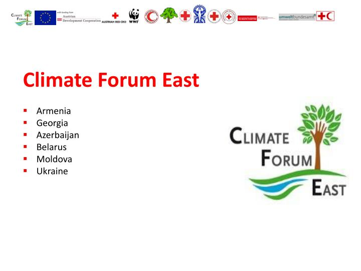 Climate Forum East