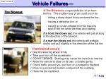 vehicle failures1