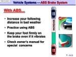 vehicle systems abs brake system4