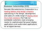 summer internship 2 2